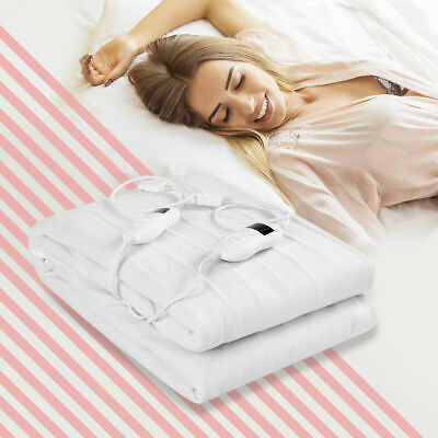 Mattress Safe - Electric Heated Mattress Pad Safe Twin/Full/Queen/King 8 Temperature 10h Timer