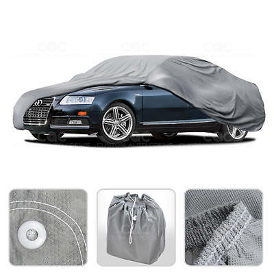 Car Cover for Audi A6 A7 A8 Outdoor Breathable Sun Dust Proof Auto Protection