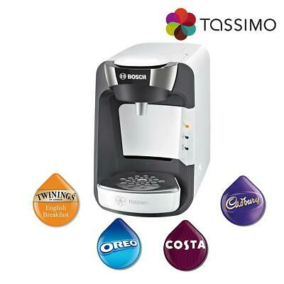 Tassimo TAS3204GB Suny Costa Coffee Hot Drinks Machine 1300W 0.8L Capacity Bosch