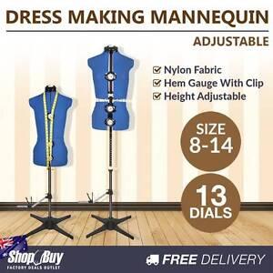 Free Delivery: Size 8 - 14 Adjustable Dressmaking Female Mannequ Homebush Strathfield Area Preview