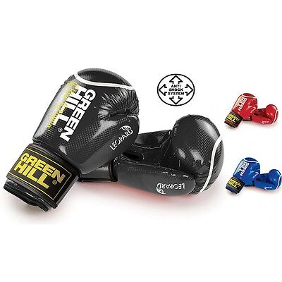 Greenhill boxing gloves Leopard best fit punch bag pad training sparring