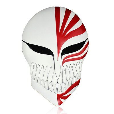 Bleach Ichigo Kurosaki Full Hollow Halloween Cosplay Movie theme mask Resin Mask