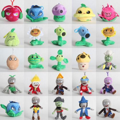Plants vs Zombies 2 PVZ Figures Plush Baby Toy Stuffed Hang
