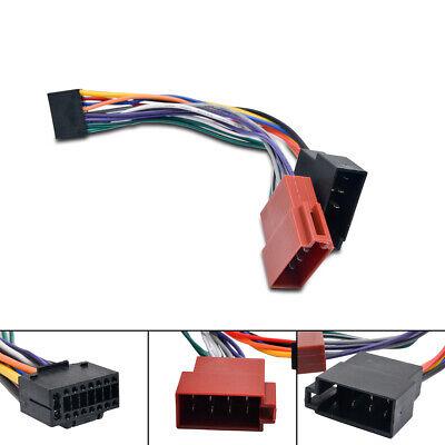 16Pin  ISO Kabelbaum Stereo Radio Stecker Power Lead Adapter Kabel Für KENWOOD Kenwood 16 Pin