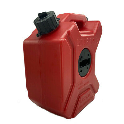 Fuel Tank Gas Petrol Can Storage Container Portable For Motorcycle Atv 3l