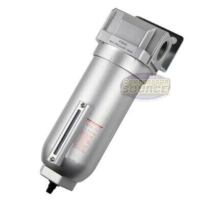 1 Inline Air Compressor In Line Water Moisture Filter Trap Separator Auto Drain