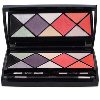 Dior Make Up Palette Eyeshadows Lipstick Blusher Eyeliner Lip Gloss Gift Set