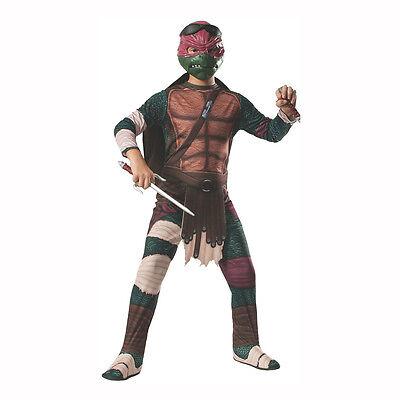 Teenage Mutant Ninja Turtles 2014 Movie Raphael Child Costume Rubies - Teenage Mutant Ninja Turtles Costumes Kids