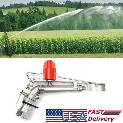 1.7 Irrigation Spray Gun Sprinkler Gun Large 360 Adjustable Impact Area Water