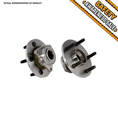 For 2002 - 2008 Dodge Ram 1500 2WD 4X4 4WD 2 Front Wheel Bearing Assembly