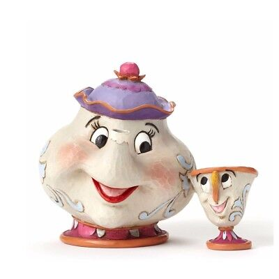 Disney Traditions Jim Shore - Mrs Brick and Chicco - Mrs Potts & Chip 4049622