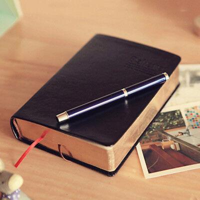 A6 Retro Stil Notizbuch Tagebuch Lederbuch Reisetagebuch Kladde für Geschenk