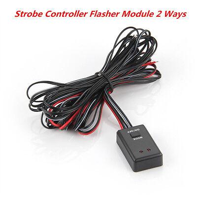 Universal Car Autos LED Flash Strobe Controller Box Flasher Module 2 Ways 12/24V](Cheap Shadow Boxes)
