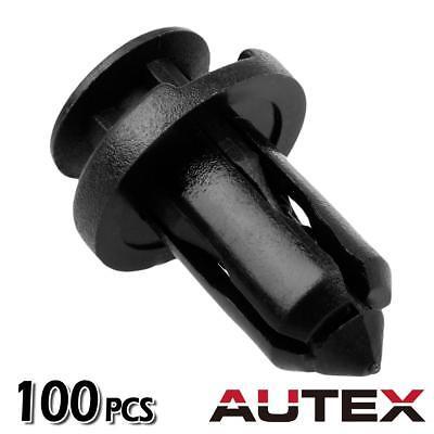 100x Bumper Cover Trim Retainer Push-Type Rivet for Nissan 240SX 350Z 370Z Cube