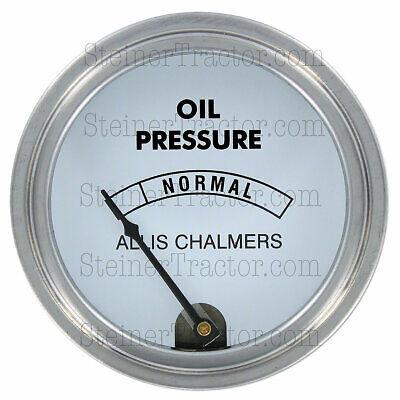Oil Gauge D15 D17 D19 Wd45 Diesel A U Gas Allis Chalmers 80psi  Ac 262
