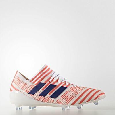 adidas Nemeziz 17.1 Firm Ground Women's Sizes 3-8 White/Orange RRP £220 PRO BOOT