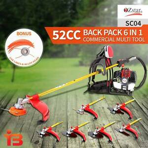 OZ Star 52cc 6 in 1 5 Blades Backpack Brushcutter Line Trimmer Fairfield Fairfield Area Preview