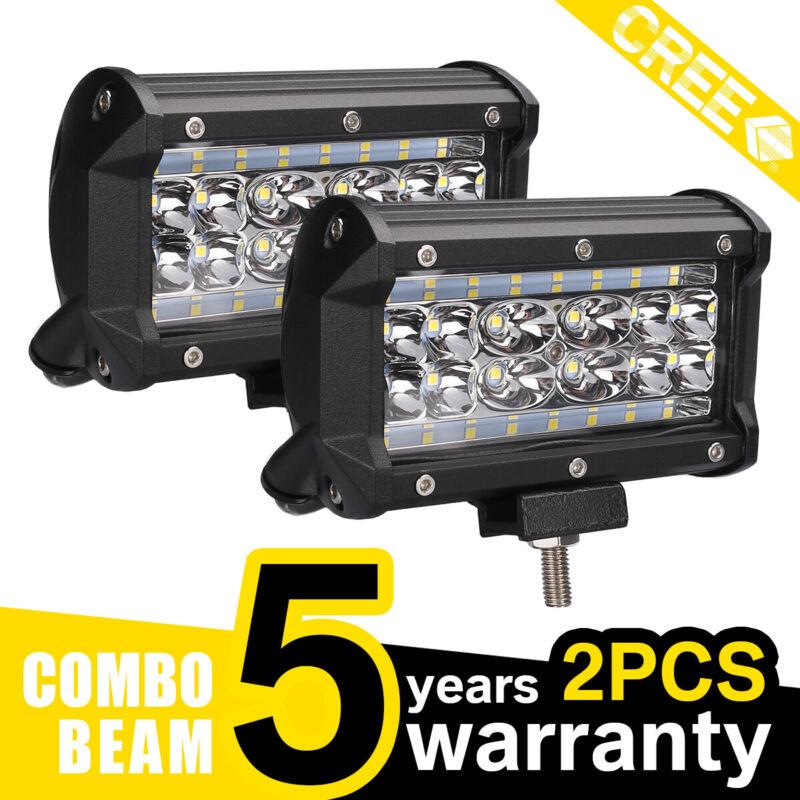 2x 688W LED Arbeitsscheinwerfer Offroad Scheinwerfer 12V 24V für Jeep SUV Bagger