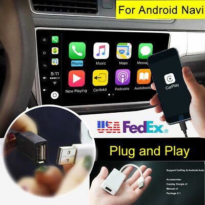 USB AutoPlay Dongle Android Auto for Car Stereo iPhone Android Phone US Shiping for sale  Dayton