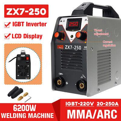220v 6200w Digital Stick Welder Arc Tig Inverter Igbt Mma Electric Welding Kit