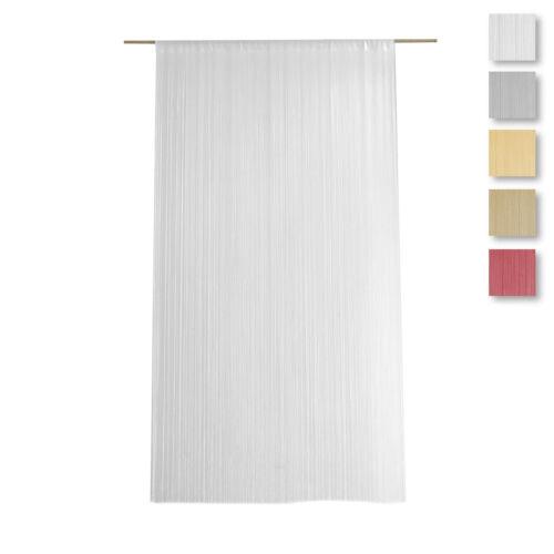 Tenda a fili d'arredo Millefili Manila 140x280 cm - tinta unita S003