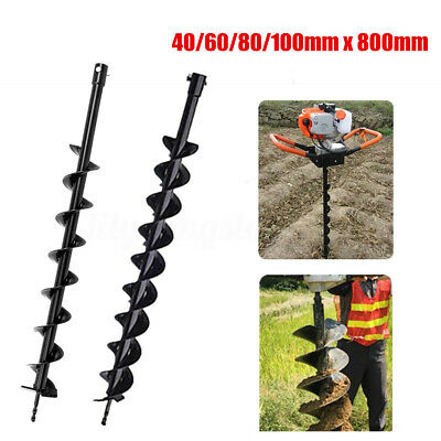 406080100mm X 800mm Earth Auger Drill Bit For Gas Powered Post Hole Digger C