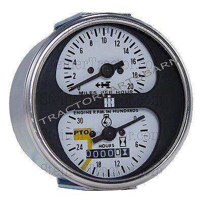 Ih Farmall New Tachometer Assembly 544 656 666 826 966 1026 1066 Hydro 70 86 100