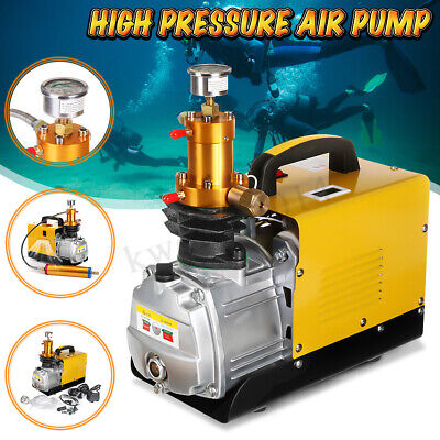 30mpa Air Compressor Pump 110v220v Pcp Electric 4500psi High Pressure Diving