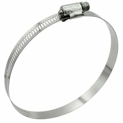 """Burndy 64"""" Hose Pipe Clamp 318 Stainless Steel 18"""" to 20"""" Diameter"""