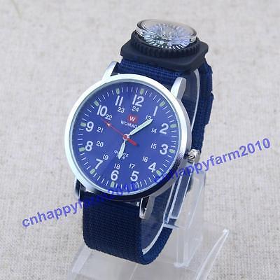 Men Boy Numerals Dial Compass Decoration Quartz Luminous Wrist Watches Womage