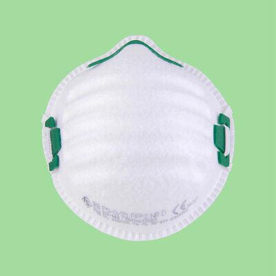 FFP2 Atemschutzmaske Mundschutzmaske mit Nasenbügel Made in EU CE 1437