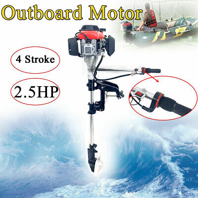2.5 Hp 54cc Boat Engine 4 Stroke Engines Outboard Motor With Air Cooling System