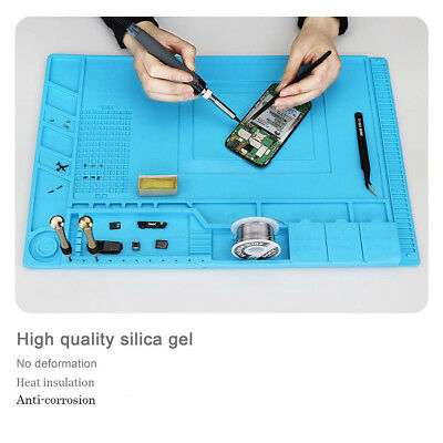 For Phone Repair Service Magnetic Heat Solder Heat Insulation Silicone Pad Mat