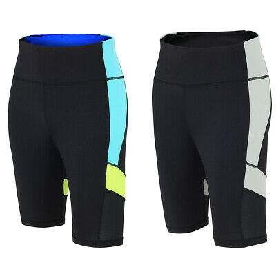 Running Hose (Red Decoct Damen Laufhose Kurz / Fitnesshose/ Funktionshose/ Running Hose/ Tight)