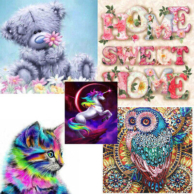 5D Diamond Painting Full Drill kits DIY Animal Cross Stitch Embroidery Craft Art