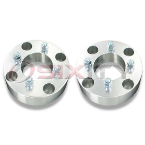 2pc-2-Aluminum-4-137-to-4-110-ATV-Wheel-Adapter-w-10-mm-Bolt-2-0-Inch
