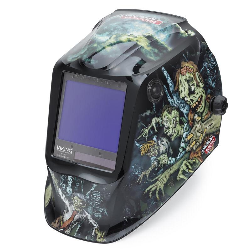 Lincoln Viking 3350 Zombie Auto-Darkening Welding Helmet K4158-4