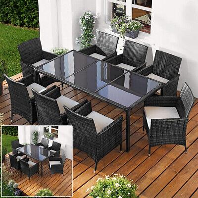 Poly Rattan Sitzgarnitur Gartenmöbel Gartengarnitur Gartenset Sitzgruppe Lounge