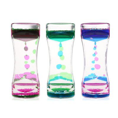 Christmas Liquid Motion Colorful Bubble Tumbler - Fun Classic Toy Fidget Timer