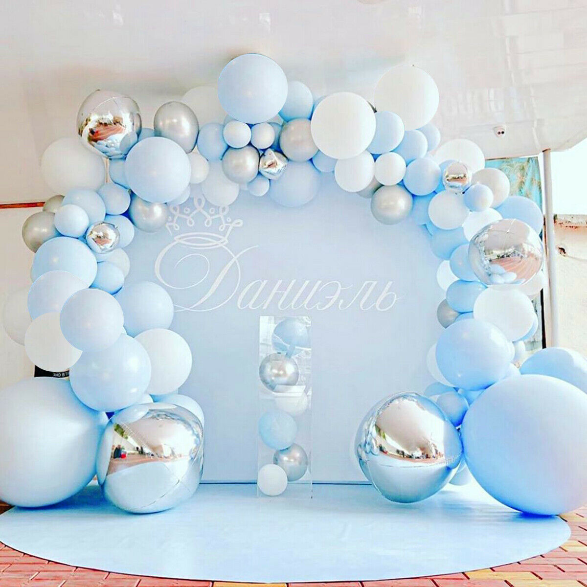 Macaron Pastel Balloon Garland Arch Kit Birthday Wedding Party Baby Shower Decor Ebay