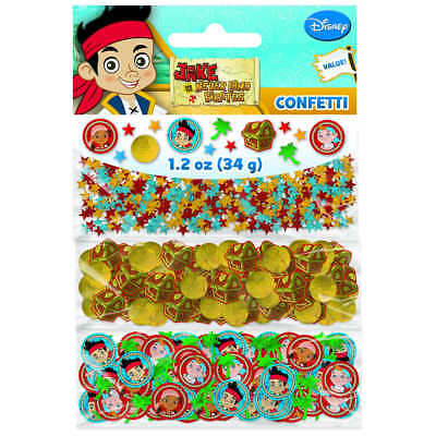 Jake and the Never Land Pirates Value Confetti Decorations Party Suplies Favors (Party Suplies)