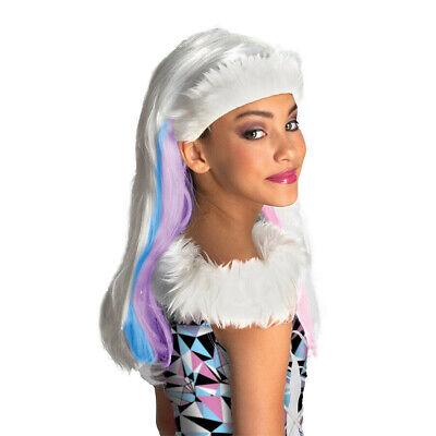 ABBEY BOMINABLE KINDER PERÜCKE Karneval Schneekönigin Eisprinzessin Kostüm Party