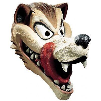 Big Bad Wolf Mask Adult Halloween Costume Fancy Dress (Big Bad Wolf Costumes)