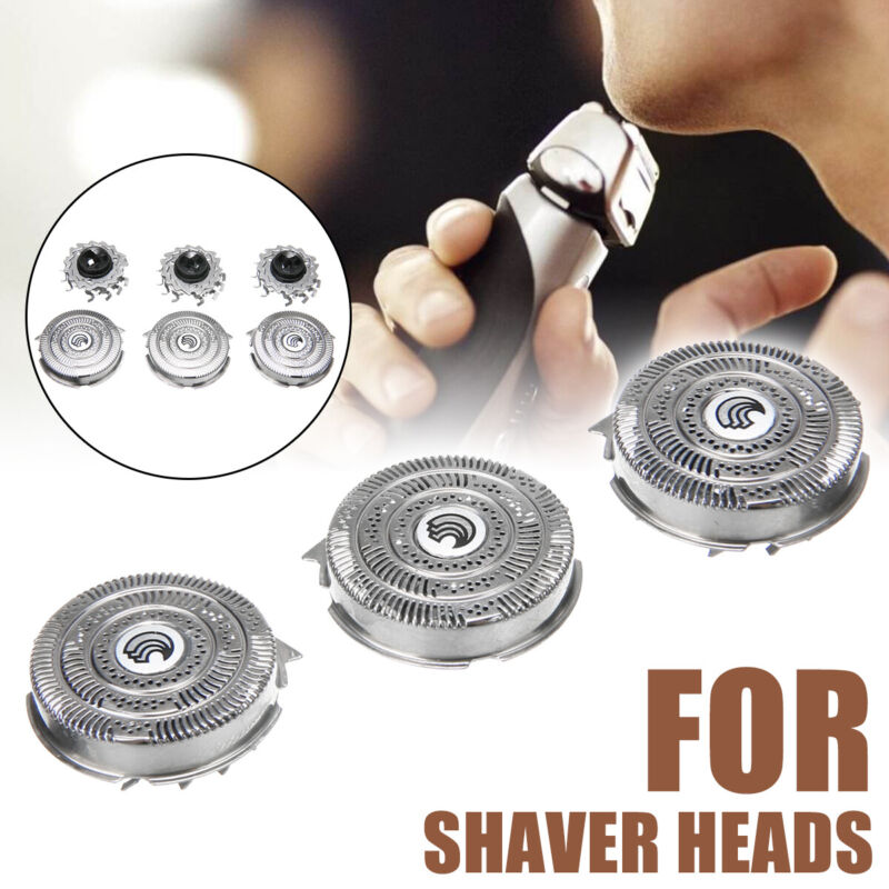 3Pcs Replacement Shaver Heads Foil Blades for Philips Norelc