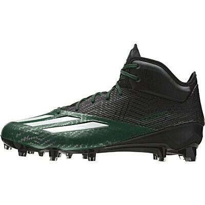 517218d283a Adidas Adizero 5-Star 7.0 Football Cleats(Black and Forest Green).