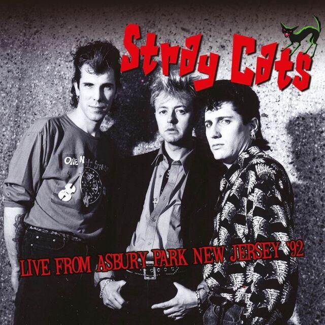 STRAY CATS - LIVE FROM ASBURY PARK NEW JERSEY 92   CD NEU