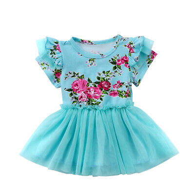 Toddler Baby Girl Dress Kids Party Dresses Tutu Casual Summer Beach Sundress](Party Dresses Toddlers)