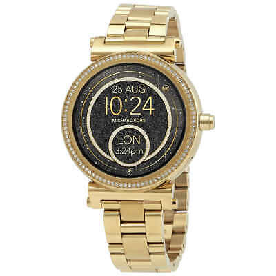 Michael Kors Access Sofie Gold-tone Touchscreen Smartwatch MKT5021