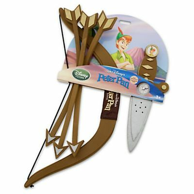 Disney Peter Pan Costume Accessories Set -- 5-Pc.Costume Sword Dagger Bow Arrow - Peter Pan Accessories