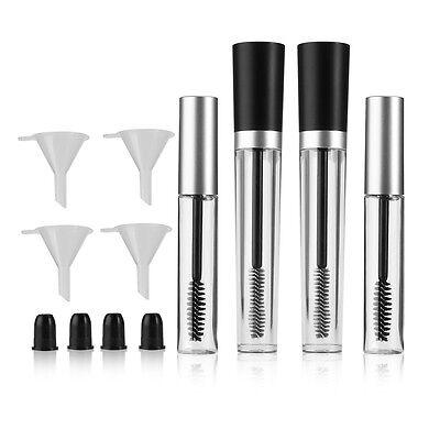 12pcs - Empty Mascara Tube/Eyelash Wand Cream Bottle/Rubber Inserts/Funnels